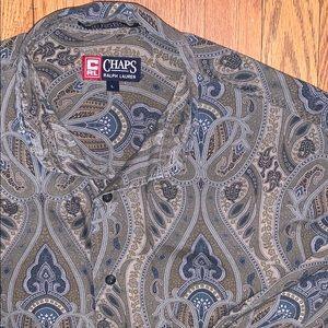 Vintage Chaps Ralph Lauren Paisley Button Up